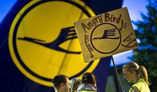 Die Flugbegleiter der Lufthansa setzen ihren Streik an diesem Dienstag fort. (Foto)