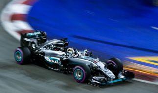 Die Formel 1 ist an diesem Wochenende zu Gast in Singapur. (Foto)