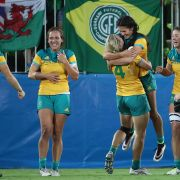 Inselstaat Fidschi feiert Rugby-Gold (Foto)