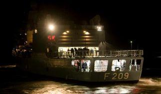 Die Fregatte Rheinland Pfalz nimmt an dem EU-Einsatz gegen Piraten vor der Küste Somalias teil. (Foto)