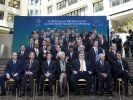 Die führenden Industrie- und Schwellenländer bilden die G20-Gruppe. Sie hat Bundeskanzlerin Angela Merkel vor einer Überlastung Deutschlands gewarnt. (Foto)