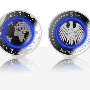Experten produzieren 5-Euro-Münze mit Kunststoffring (Foto)