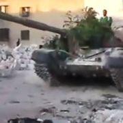 Die Gewalt in Syrien spitzt sich zu. Dieses Amateurbild entstand in Aleppo.