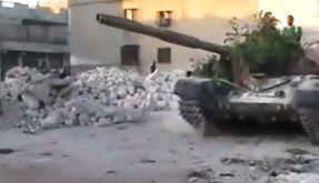 Die Gewalt in Syrien spitzt sich zu. Dieses Amateurbild entstand in Aleppo. (Foto)