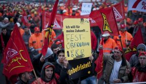 Die Gewerkschaften fordern 6,5 Prozent mehr Lohn (Foto)