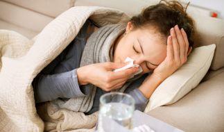 Die Grippewelle ist weiter auf dem Vormarsch: Mit klassischen Hausmitteln lassen sich bereits die meisten Symptome lindern. (Foto)
