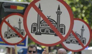 Die rechtspopulistische Gruppierung Pro Deutschland sorgt immer wieder für Provokationen. Zuletzt zeigte sie eine Karikatur des Propheten Mohammed. (Foto)