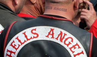 Die deutschen Hells Angels bek#mpfen sich seit zehn Jahren mit den Bandidos. (Foto)