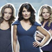 Wer hat am meisten Sex-Appeal: Olivia Wilde (von links), Lisa Edelstein oder Jennifer Morrison?