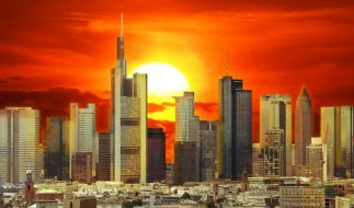 Die Idylle trügt - die Bilanzen der deutschen Banken stehen auf wackligem Boden. (Foto)