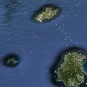 Die Insel Giglio bei Google Earth. Doch es haben auch manche Phantominseln auf Landkarten geschafft. (Foto)