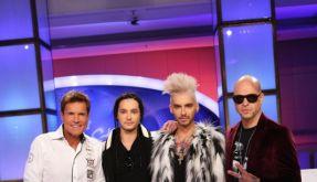 Die Jury: (v.li.) Dieter Bohlen, Tom Kaulitz, Bill Kaulitz und Mateo. (Foto)