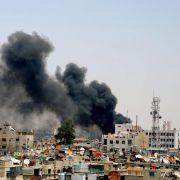 Die Kämpfe zwischen Regierungstruppen und Oppositionellen haben mehrere Viertel der syrischen Hauptstadt Damaskus erreicht.