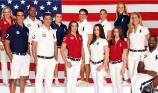 Die Kleidung für die US-Sportler wird in China hergestellt. (Foto)