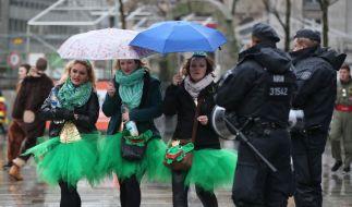 Die Kölner Polizei vermeldet sechs sexuelle Übergriffe zur Weiberfastnacht. (Foto)