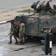 Die Lage in Simbabwe ist nach dem Militär-Putsch angespannt.
