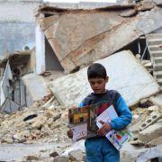 Menschenrechtler fordern Familiennachzug für syrische Flüchtlinge (Foto)