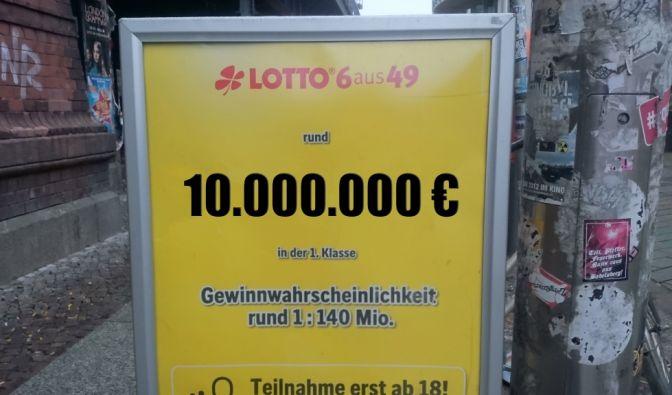 Alle aktuellen Lotto am Mittwoch Gewinnzahlen von heute für 10 Millionen Euro (Foto)