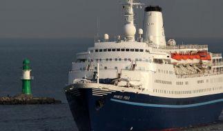 Die Marco Polo war zu schnell. (Foto)
