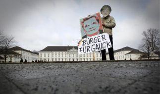 Die Mehrheit der Deutschen will Joachim Gauck als neuen Bundespräsidenten. (Foto)