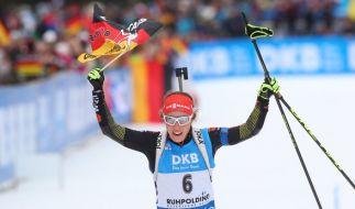 Die Mixed-Staffel wird die erste Bewährungsprobe für das deutsche Team bei der WM in Oslo. (Foto)