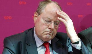 Die Nebentätigkeiten des SPD-Kanzlerkandidaten Peer Steinbrück sorgen seit Tagen für kritische Nachfragen. (Foto)