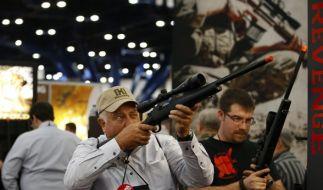 Die NRA und die amerikanische Waffenlobby haben großen politischen Einfluß. (Foto)