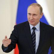 Wird das Wladimir Putin einschüchtern? (Foto)