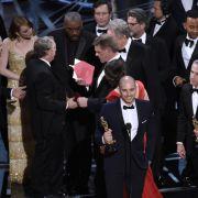 """Die Oscars sind mit einer Riesenpanne zu Ende gegangen. Beim letzten Preis der Gala, der Königkategorie bester Film, wurde zunächst das Musical """"La La Land"""" fälschlicherweise als Gewinner verkündet. (Foto)"""