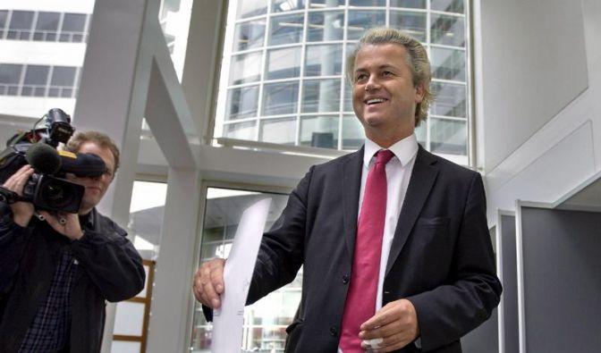 Die Partei des Islam-Gegners Geert Wilders bekommt vier der 25 Sitze im Europäischen Parlament. (Foto)