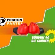 Die Piratenpartei wird für die Grünen zu einer echten Herausforderung.