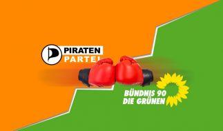 Die Piratenpartei wird für Grüne zur Herausforderung (Foto)