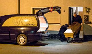 Die Polizei hat in einem Anwesen in Wallenfels sterbliche Überreste von Säuglingen gefunden. (Foto)