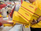 Die Post-Tochter DHL transportiert sieben Millionen Sendungen am Tag. (Foto)
