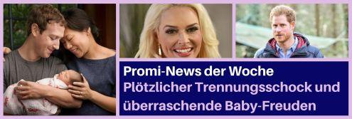 Promi-News der Woche