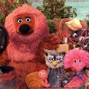 Die Puppen-Stars Rumpel, Samson, Finchen, Eule Buh und Tiffy (v.l.): Am 8. Januar 1973 wurde die erste «Sesamstraße»-Folge mit deutschen Figuren gezeigt.