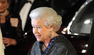 Die Queen bei der Narnia-Premiere in London (Foto)