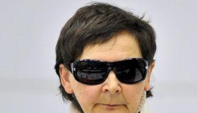 Die ehemalige RAF-Terroristin Verena Becker heute, im Gerichtssaal des Oberlandesgerichts Stuttgart  (Foto)