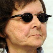 Die ehemalige RAF-Terroristin Verena Becker wurde im Gerichtssaal des Oberlandesgerichts in Stuttgart verureilt.