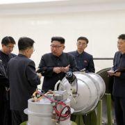 Kim Jong Un meldet erfolgreichen Test von H-Bombe (Foto)