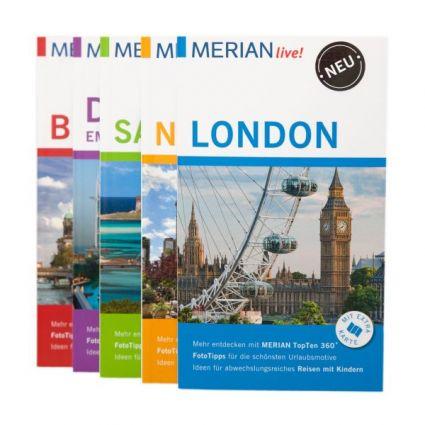 Die Reiseführer von MERIAN live! sind wie gemacht für Liebhaber von Kurztrips und Städtereisen. (Foto)