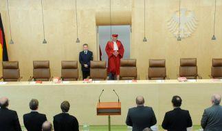 Die Richter des Bundesverfassungsgerichts haben Zweifel an der Rechtmäßigkeit der Antiterrordatei. (Foto)