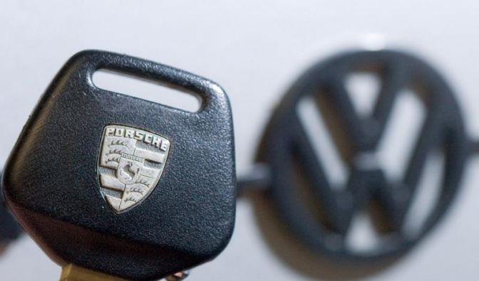 Die Ringe der Ehe zwischen VW und Porsche liegen bereit. (Foto)