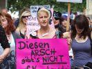Die Schlampen protestieren (Foto)