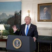 Russland-Affäre: Ermittlungen gegen Trump persönlich (Foto)