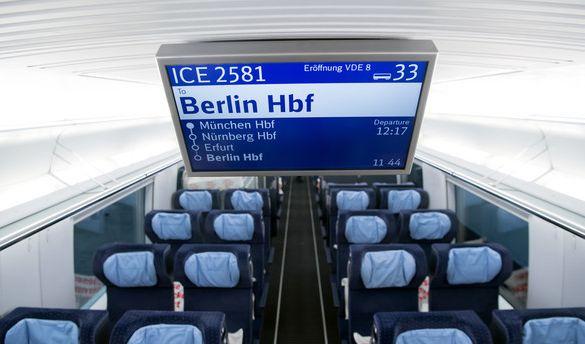 Die neue Schnellstrecke der Deutschen Bahn zwischen München und Berlin ist kaum eröffnet, schon häufen sich die Probleme. (Foto)