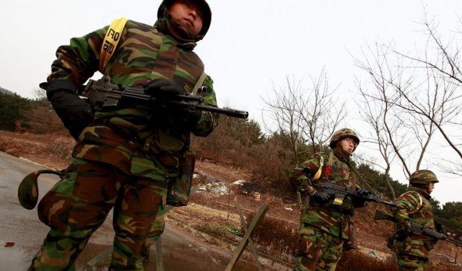 Die Situation zwischen Nord- und Südkorea ist bis aufs Äußerste gespannt. (Foto)
