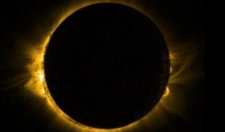 Die totale Sonnenfinsternis am 21. August 2017 ist in Deutschland nicht zu sehen. (Foto)