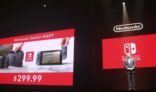 Die neue Spielekonsole namens Nintendo Switch Soll Anfang März 2017 auf den Markt kommen. (Foto)