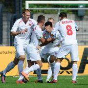 Die Spieler des Berliner AK 07 sorgten für eine Hoffenheimer Blamage.